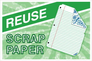 reuse-scrap-paper